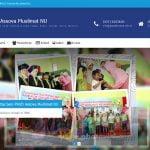 Pembuatan Website PAUD Assova Muslimat NU